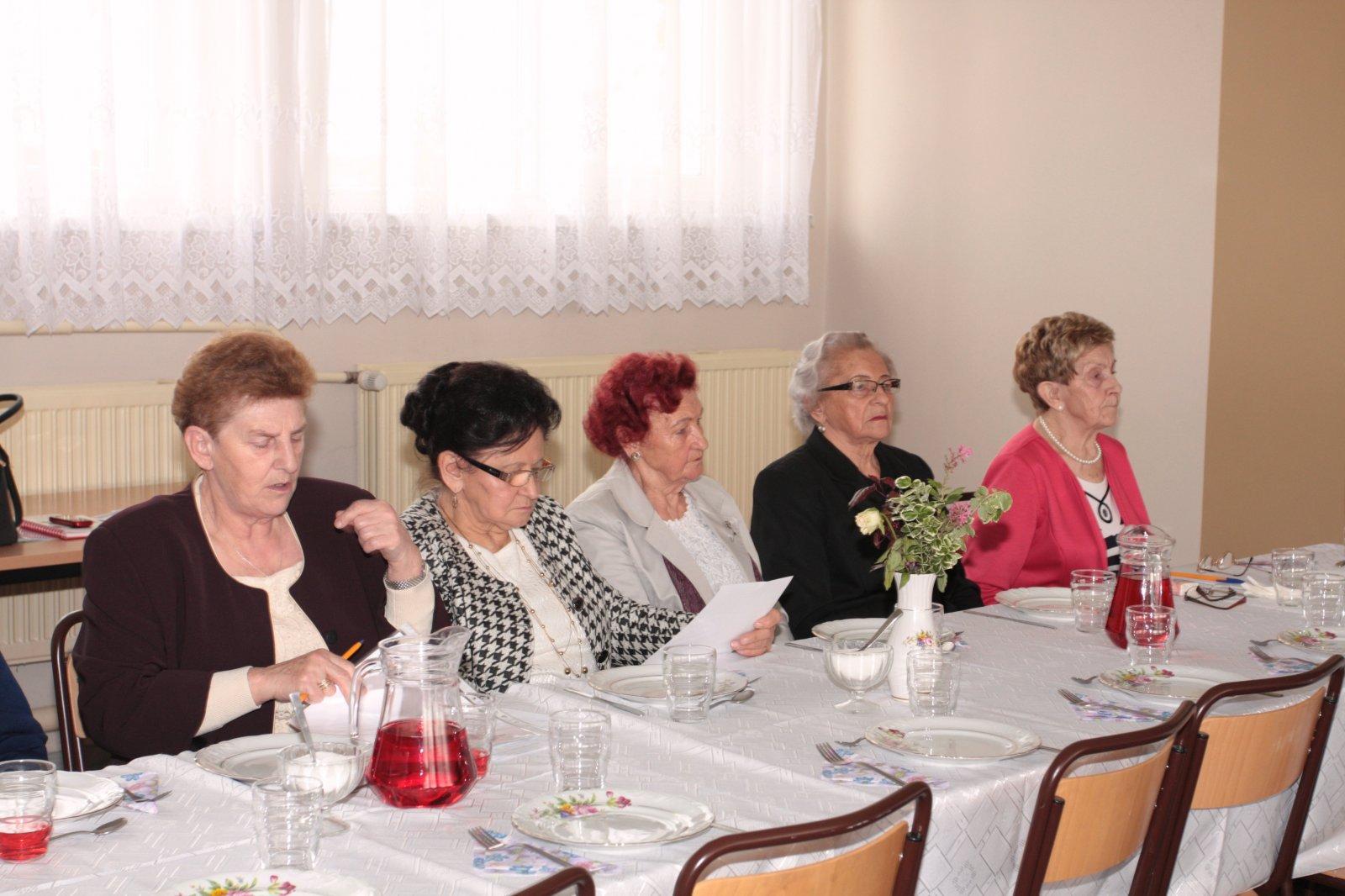 Spotkanie sprawozdawczo-wyborcze Związku Kombatantów RP iByłych Więźniów Politycznych Koła wKaźmierzu.