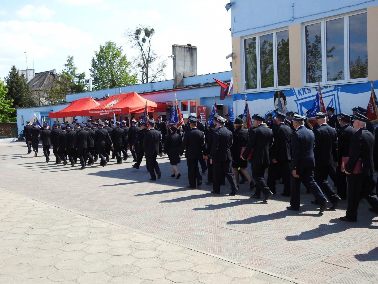 Powiatowy Dzień Strażaka wKaźmierzu