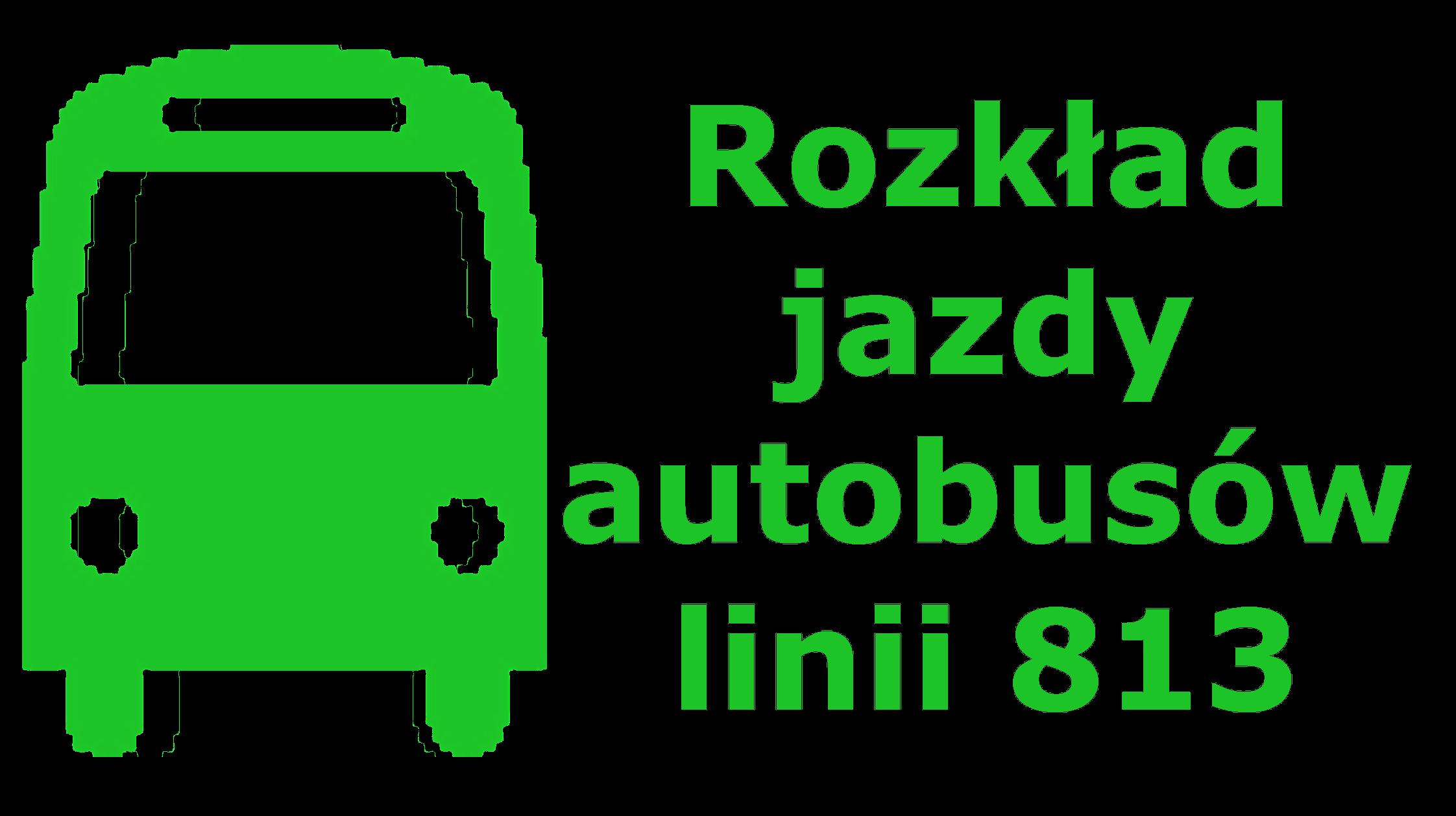Rozkład autobusów 813